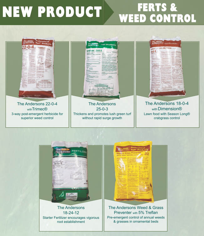 New Fertilizer and Weed Control