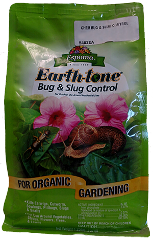 #9482 Earth-tone Slug and Snail Control
