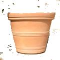 Rolled Rim Planter